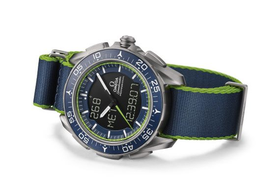 La montre Omega speedmaster skywalker x-33 solar impulse