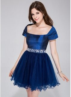 vestido azul marinho curto com tule - Pesquisa Google