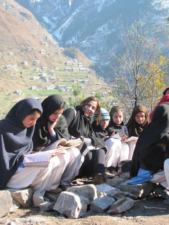"""""""Education is improving the lives of others and for leaving your community and world better than you found it.""""-Marian Wright Edelman--Photo: Fozia Naseer/CAI"""