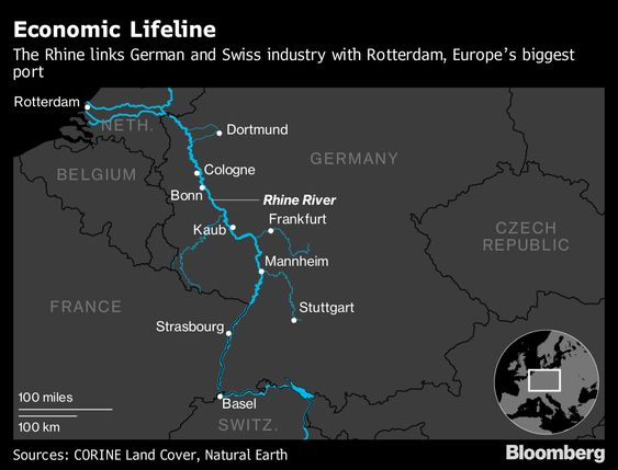 Germany's Dried-Up Rivers Cut Growth But the Rebound Is Coming.(January 23rd 2019)