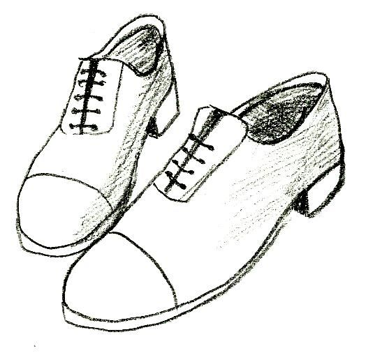 Gallery For gt How To Draw Tennis Shoes Step By