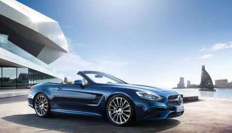 The New Generation Mercedes Benz Sl The Legend Mercedes Benz Benz Mercedes