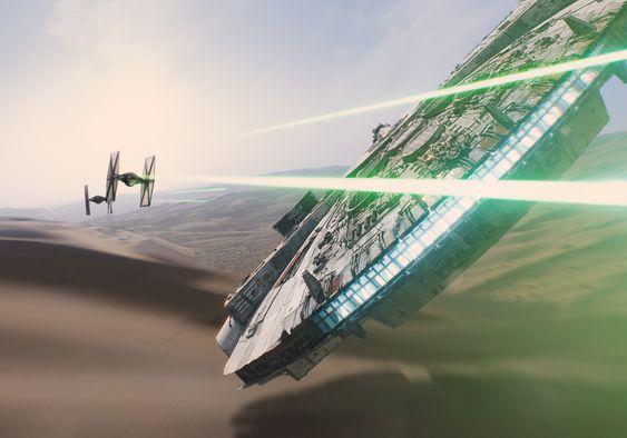 Die besten Szenenbilder aus dem neuen Star Wars: Das Erwachen der Macht Trailer. #StarWars