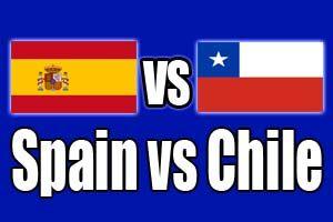SPAIN  0 - 2  CHILE (Full-Time) -2014 FIFA World Cup, Maracanã - Estádio Jornalista Mário FilhoRio De Janeiro (BRA)18 Jun 2014 - Group stage - Group B