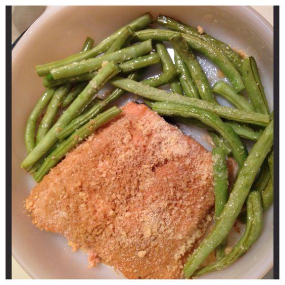 Bread crumbs, Sea salt and Salmon on Pinterest