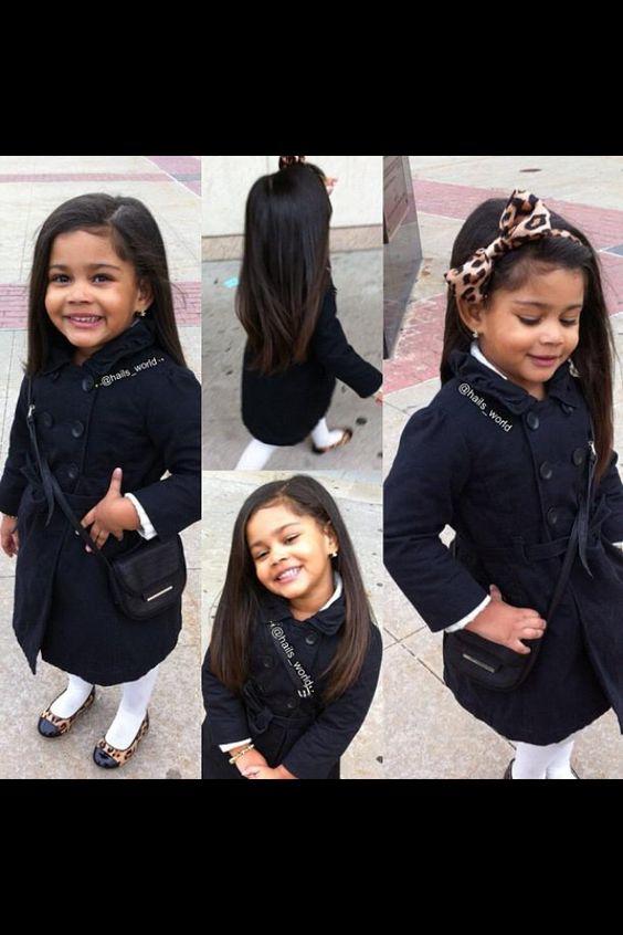 Cute little girl that looks like Charlotte York's daughter