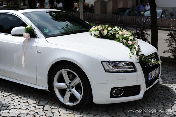 Brautauto weißer Audi