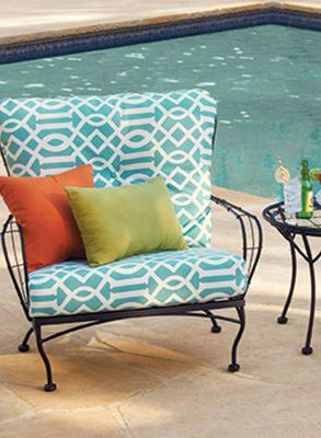 funky outdoor furniture pool
