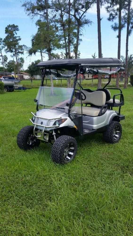 Golf Golf Carts And Yamaha Golf Carts On Pinterest