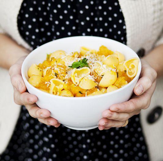 simple pumpkin pasta