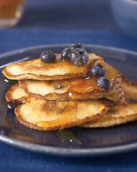 Ricotta Pancakes with Blueberries