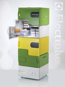 frigidaire, compartiments, frigidaire partagé, frigidaire pour étudiant, module frigidaire, rangement réfrigérateur