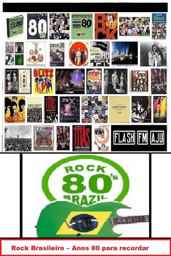 Rock Brasileiro Anos 80 Para Recordar Com Imagens Rock