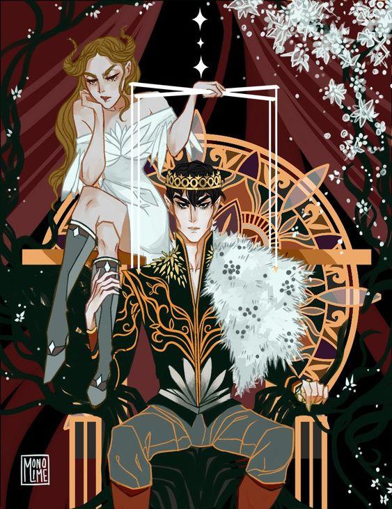 Le peuple de l'air tome 2 : Le roi maléfique - Fanart par @monolimeart