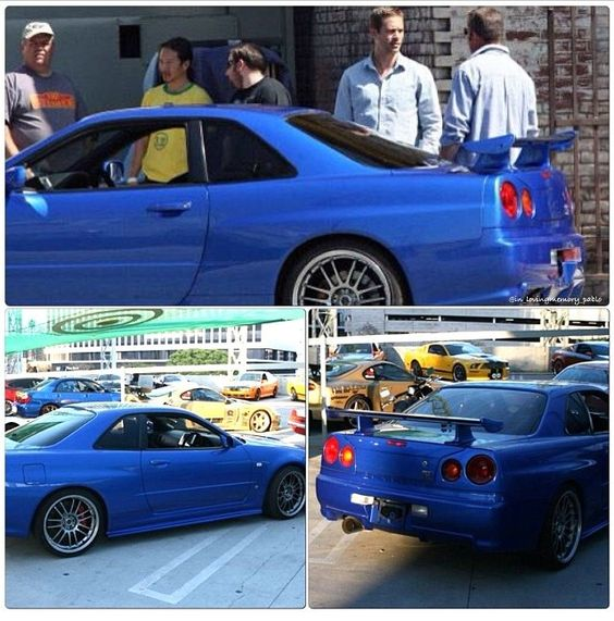 "Paul Walker/Brian O'Conner Nissan SkyLine GT-R R34 ""The"