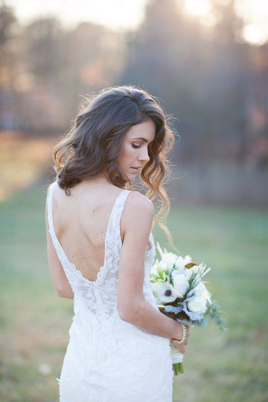 winter wedding  Flowers by Carrie Wilcox Floral Design