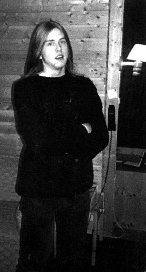 Varg Vikernes as a teenager