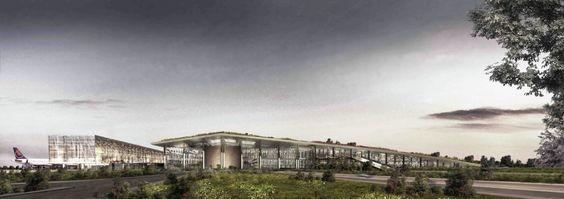 Cukurova Regional Airport Complex / Emre Arolat Architects (Adana, Turquia) Categoria: Infraestrutura