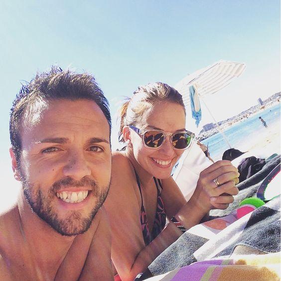 Disfrutando de la playa #SantAntonideCalonge Plan de sábado increíble!  con @anaymiguelweb