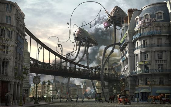 Image result for h.g. wells art