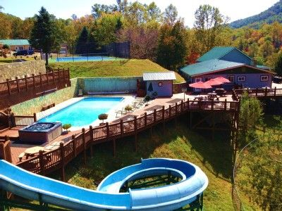VRBO.com #257078ha   Cloud 9 At The Camp: Gorgeous House W/Heated Pool,Water  Slide And More, Sleeps | Camping | Pinterest | Water Slides, Heated Pool  And ...