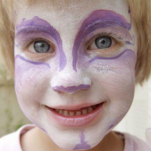 Trucco di Halloween per bambini da fata