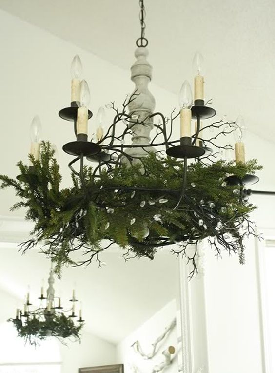 chandelier decorating