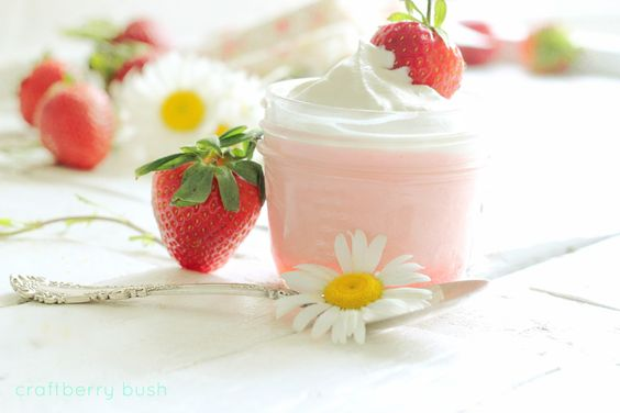 strawberry mousse w/coconut whip! mmmmm