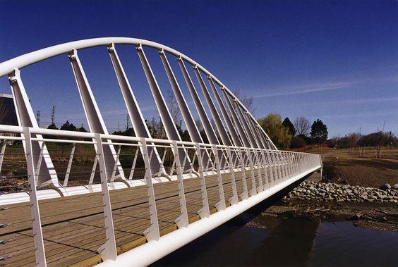 Mimico Creek Pedestrian Bridge (Toronto) - Santiago Calatrava L - schiebetür für badezimmer