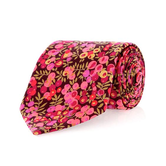 Wiltshire Liberty Print Tie by Liberty London