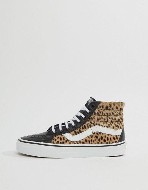 Leopard print vans, Leopard vans