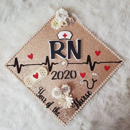 45 Nurse Graduation Cap Ideas Nicu Er Pediatric Ob More Nurse Graduation Cap Nurse Graduation Cap Designs Graduation Cap Decoration