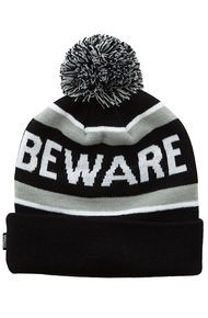 Grizzly Griptape The Beware Pom Beanie in White