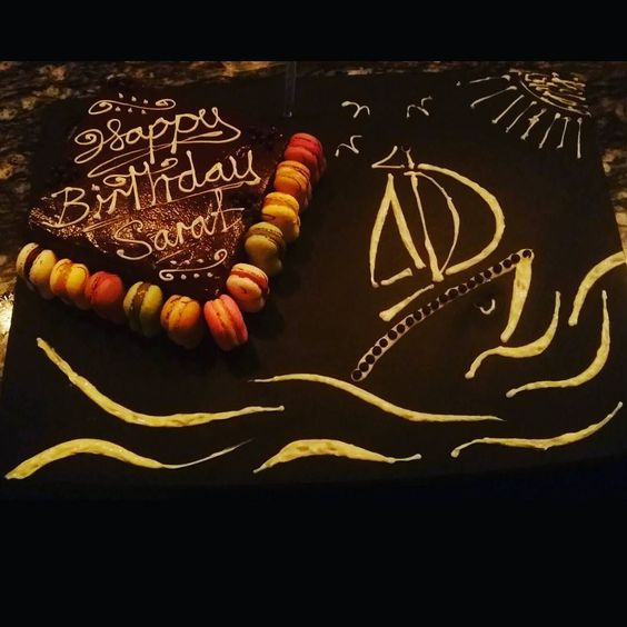 Not every day your boss has a birthday. .  Better do something nice for him right?  #goodtohavegoodbosses #100turfclub #tinhillsocial #theartofplating #foodart #foodporn #food #sgfood #singapore #chefmichaellewis #cheflife #truecooks #sgfoodies #gastroart by chefmichaellewis