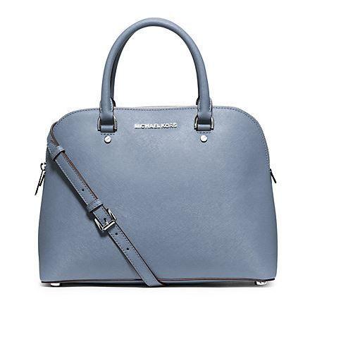 MICHAEL KORS: CINDY SATCHEL Rent this designer handbag at www.ArmGem.com!