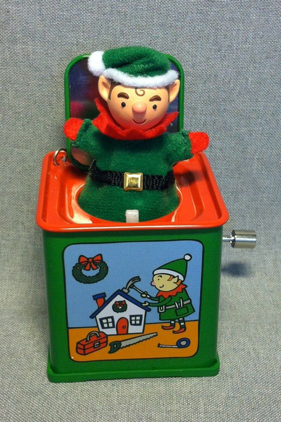 Jack In The Box Memories - Pop Goes The Elf - 7th/F in the Series - Hallmark - 2009