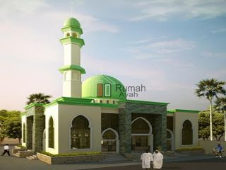 53 Model Desain Masjid Minimalis Modern Unik Terbaru 2018 Model