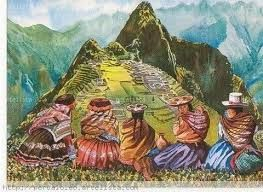 Resultado de imagen de pintura andina