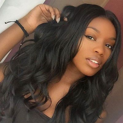 100% Brazilian Virgin Hair Wave Lace Front Front Lace/Full Lace Human Hair Wigs