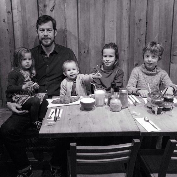 Very early birthday breakfast for @Tamar Van de Paal. Happy birthday my love!
