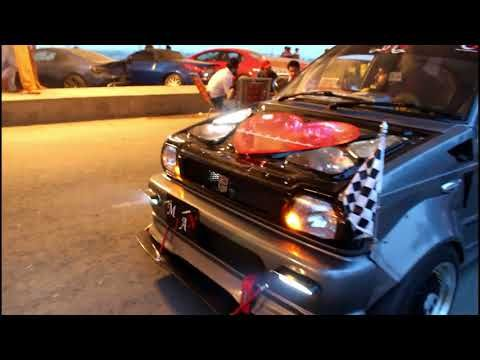 Suzuki Mehran Modified With Smoke And Back Fire Kits Faisalabad