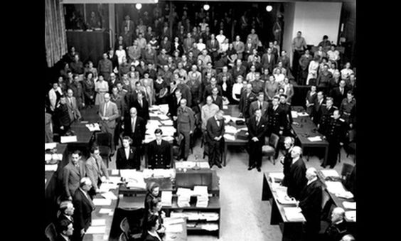 the opening session of the nuremberg trials nuremberg  the opening session of the nuremberg trials nuremberg 18 1945 1945 war degredation dispair hell nuremberg trials