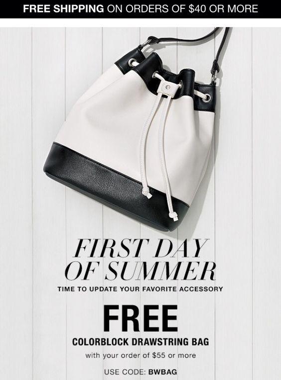 Free bag! Use code: BWBAG Expires midnight 6/22/2016 https://aansell.avonrepresentative.com