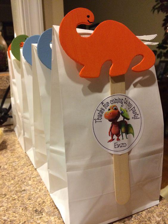 Dinosaur Train goodie bags