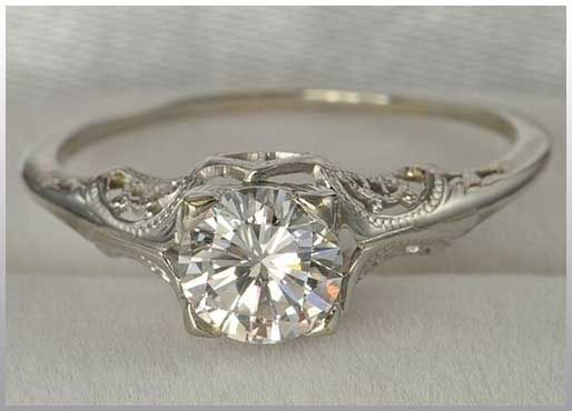 Vintage wedding ring wedding, so simple and so beautiful