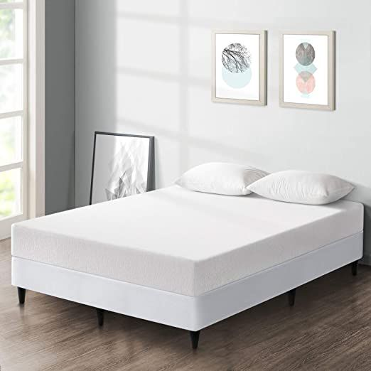 Best Price Mattress 8 Inch Premium Memory Foam Mattress And New Innovative Steel Platform Bed Set Queen In 2020 Platform Bed Sets Mattress Mattress Furniture