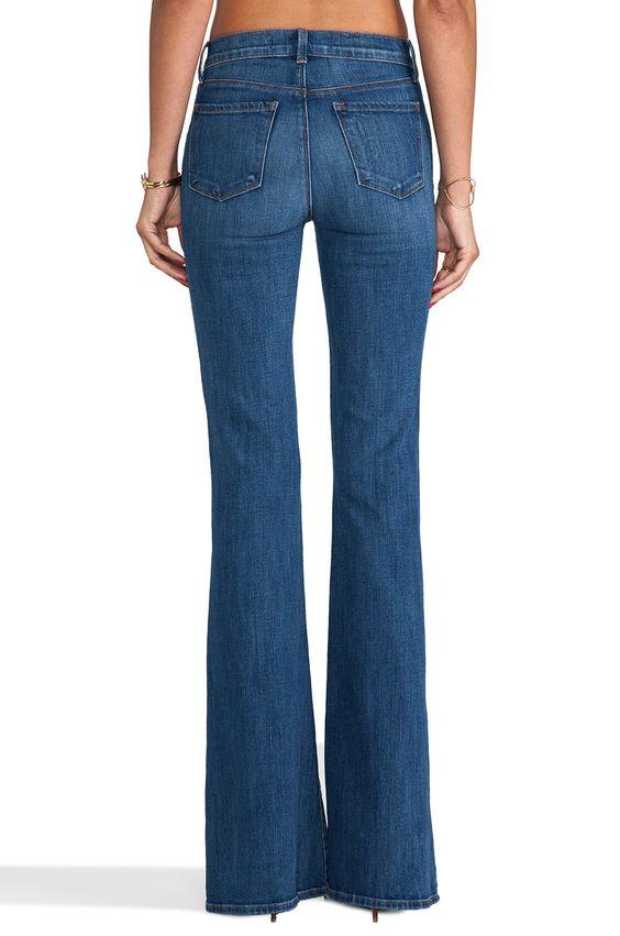 J Brand Flare Jeans Valentina