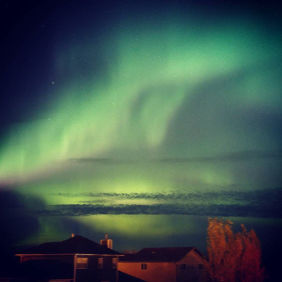 Magnificent views again last night! #yeg #auroraborealis #northerngirls #girlswhovape #vaping