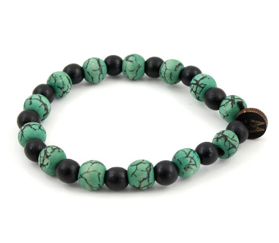 GoodWoodNYC - Ancient Bracelet Teal, $10.00 (http://www.goodwoodnyc.com/ancient-bracelet-teal/)