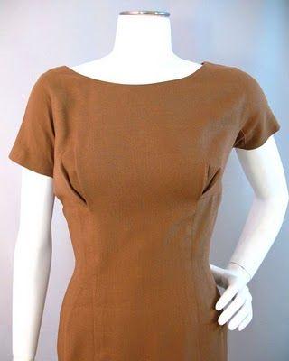 Vintage Detail: 1950s Wiggle Dress